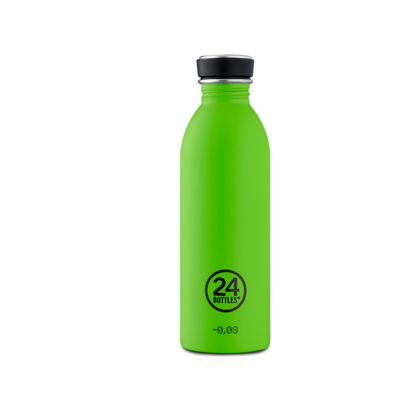 Bouteille urbaine Choromatic Collection Lime Green inox 500 ml