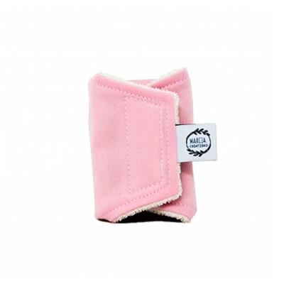 Protège-slip «jeune fille» spécial sportive en coton biologique coloris rose