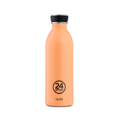 Bouteille urbaine Pastel Collection Peach Orange inox 500 ml