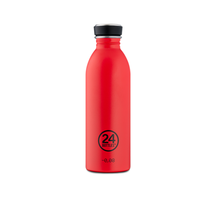 Bouteille urbaine Choromatic Collection Hot red inox 500 ml