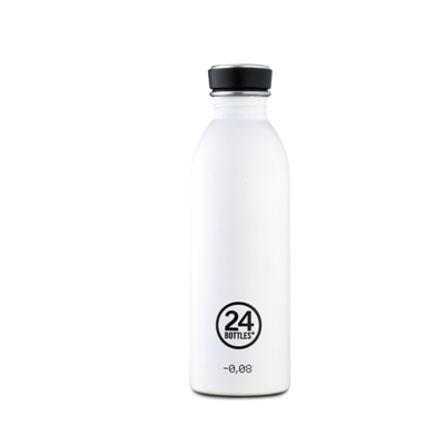 Bouteille urbaine Basic Collection Ice White inox 500 ml