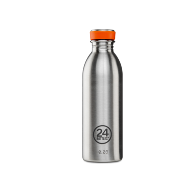 Bouteille urbaine Basic Collection STEEL inox 500 ml
