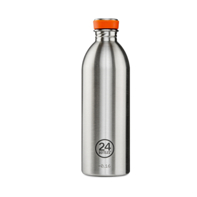 Bouteille urbaine Basic Collection STEEL inox 1 L
