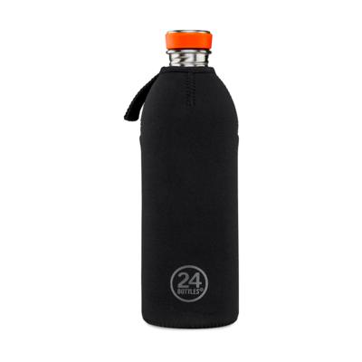 Housse thermique en néoprène noir Thermal Cover 1 L