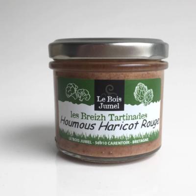 Houmous de haricots rouges Bio Les Breizh Tartinades 100g
