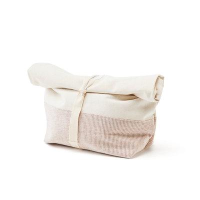 Sac à pain réutilisable édition spéciale en coton et chanvre naturel