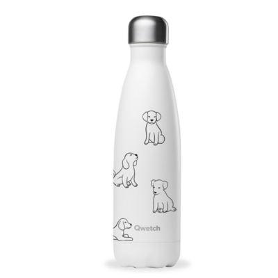 Bouteille « Pretty dogs » 500 ml, inox, isotherme