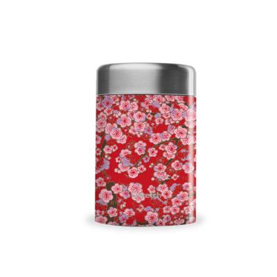 Boîte repas & soupe Flowers, inox et isotherme340ml