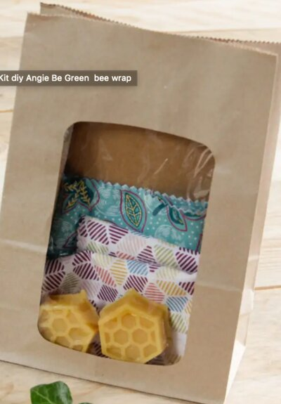 Kit DIY bee wrap