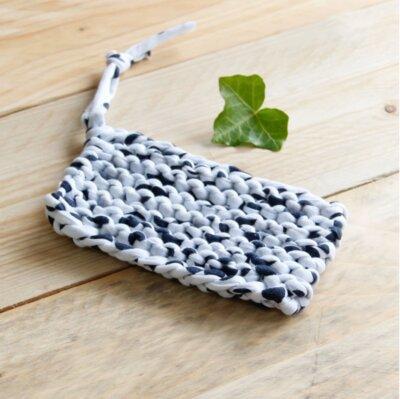 Tawashi éponge écologique fait au crochet