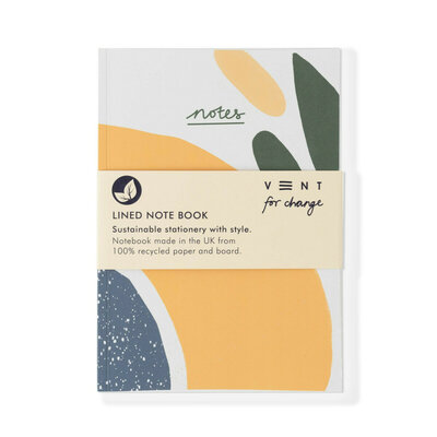 CarnetA5 ligné - Olive