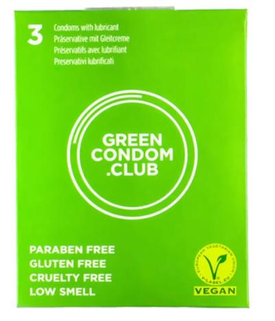 3 préservatifs vegan