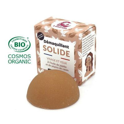 Démaquillant solide à l'huile de jojoba et de pépins de raisin