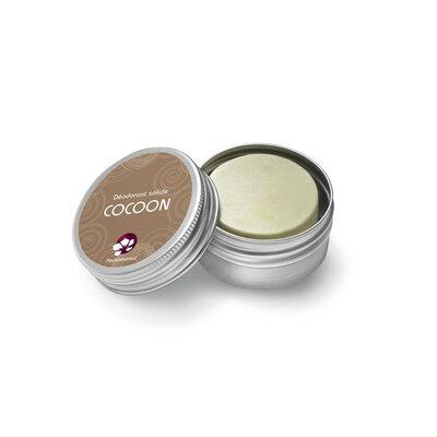 Déodorant solide sans huile essentielle Cocoon 25 g en boite rechargeable
