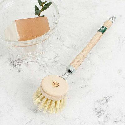 Brosse vaisselle à tête interchangeable
