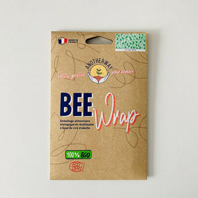 Bee Wrap 2 emballages réutilisables Feuillage taille L
