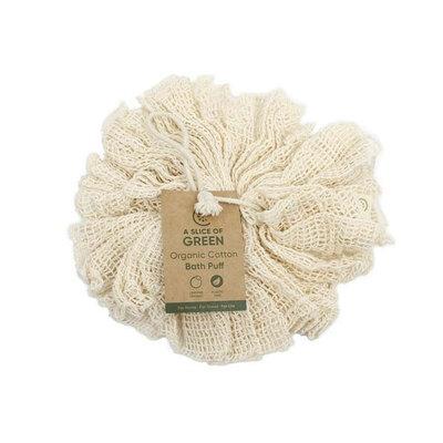 Fleur de bain en coton bio