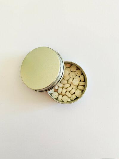 Boîte de 40 pastilles dentifrice à croquer