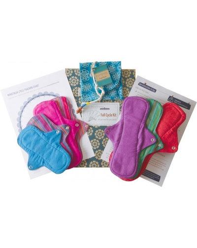 Pack de protections hygiéniques lavables bio et vegan