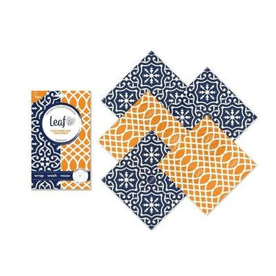 5 wraps en cire végétale Marrakesh - Pack Teeny
