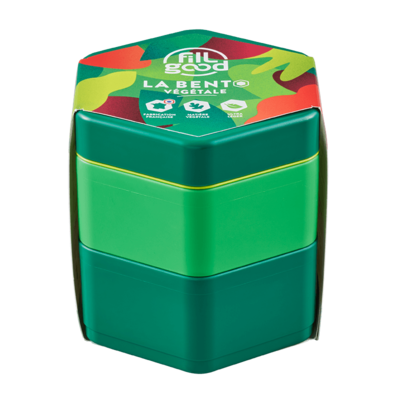 Boite à repas végétal vert made in France