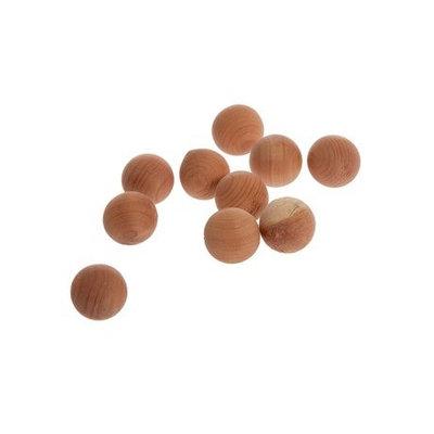 Boules en bois de cèdre désodorisantes et antiparasites
