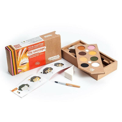Kit maquillage Vie sauvage 8 couleurs