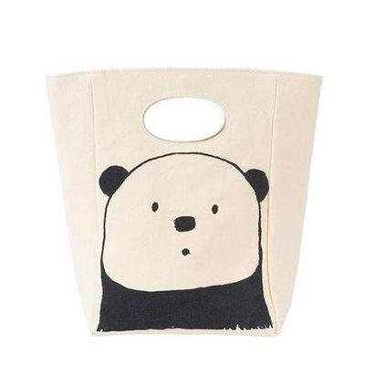 Sac repas Panda Classic Lunch en coton bio