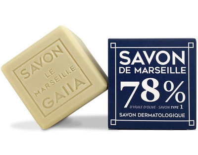 Cube de savon de Marseille 250 g pur olive