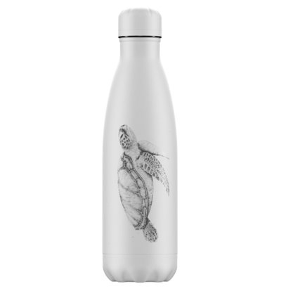 Bouteille Tortue Sea Life 500 ml inox, isotherme et sans BPA