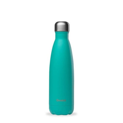 Bouteille Pop Lagoon bleu 500 ml inox, isotherme