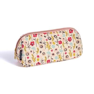 Trousse maquillage Bloom en coton bio