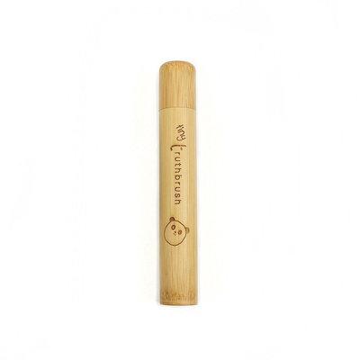 Etui à brosse à dents de voyage en bambou enfant
