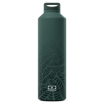Bouteille isotherme MB STEEL vert jungle