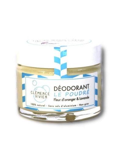 Déodorant crème Fleur d'oranger et Lavande50 g