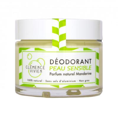 Déodorant crème mandarinepeau sensible 50 g