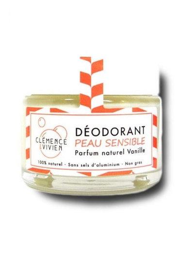 Déodorant crème vanillepeau sensible 50 g