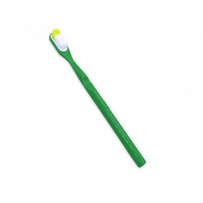 Brosse à dents à tête rechargeable - vert souple