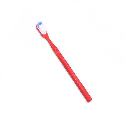 Brosse à dents à tête rechargeable rouge souple