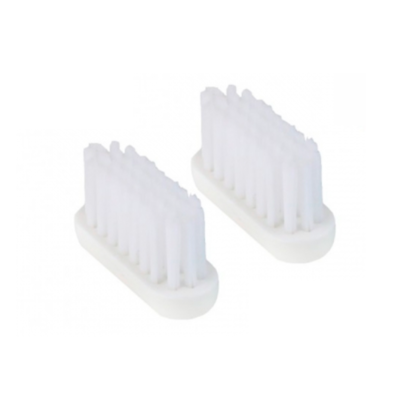 Lot de 2 recharges tête de brosse à dents medium