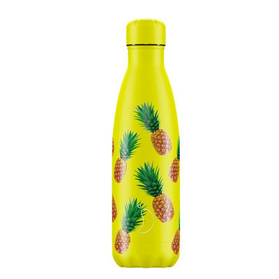 Bouteille Icons ananas 500 ml inox, isotherme