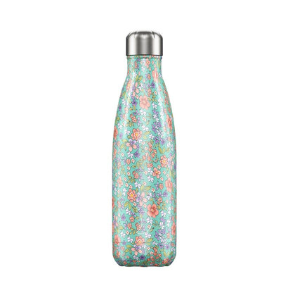 Bouteille Florale Pivoine 500 ml inox, isotherme