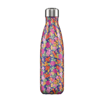 Bouteille Florale Rose 500 ml inox, isotherme