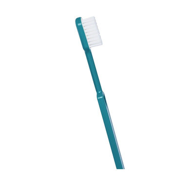 Brosse à dents à tête rechargeable turquoise souple