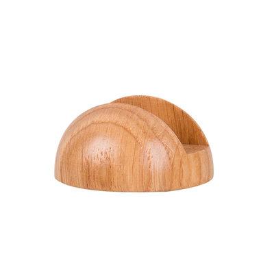 Support bois chêne pour rasoir