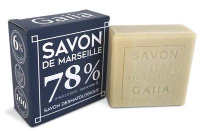 Cube de savon de Marseille 100 g pur olive