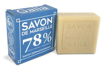Cube de savon de Marseille 100g olive / coco bio