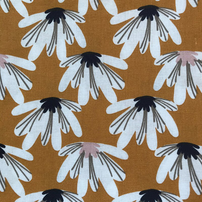 Emballage cadeau Furoshiki Moutarde50 × 50cm