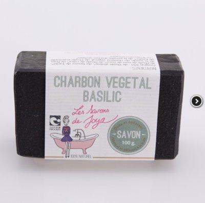 Savon surgras basilic et charbon végétal 100g