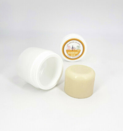 Recharge boite de déodorant solide citron et mandarine